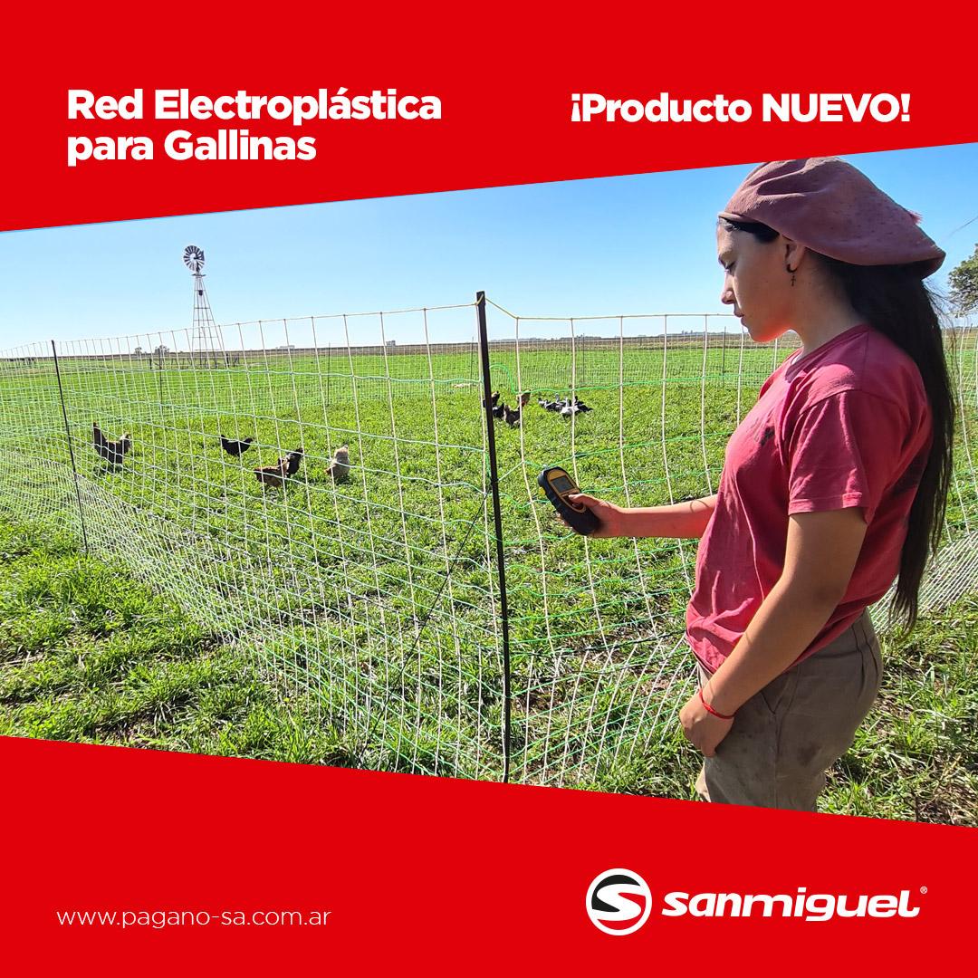La red electroplástica para la contención de aves y depredadores cel